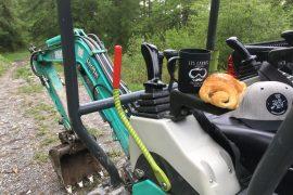 Entretiens et préparation Bikepark de St Jean Montclar 04